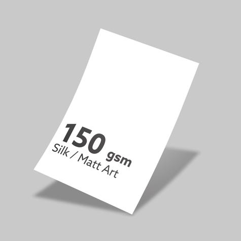 150gsm Silk/Matt Art
