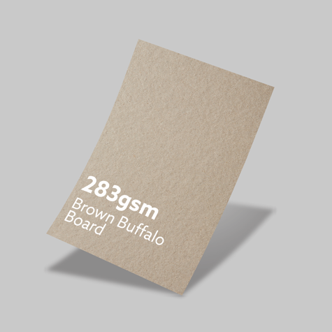 283gsm Brown Buffalo Board