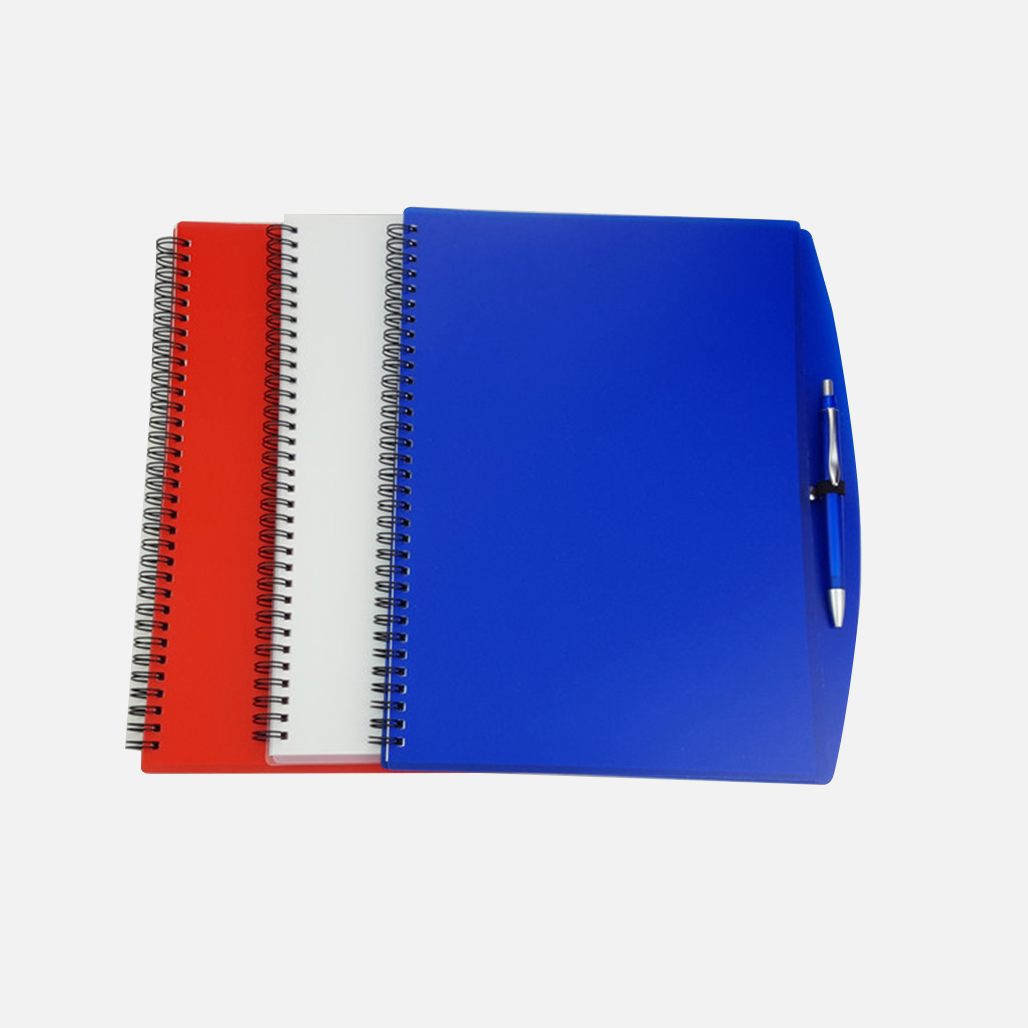A4 Size PP Notebook