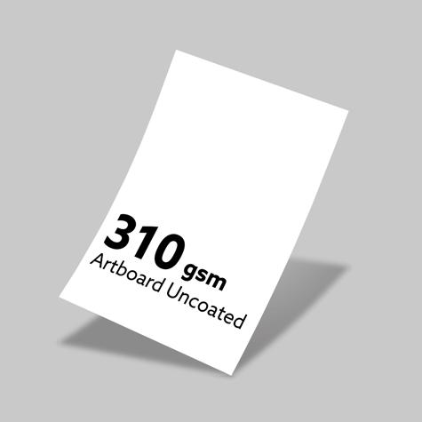 310gsm Artboard Uncoated