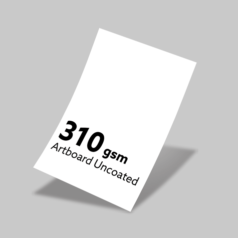 310gsm Artboard Uncoated