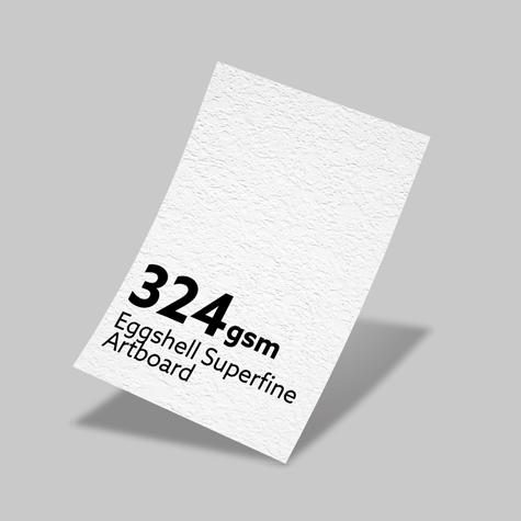 324gsm Eggshell Superfine Artboard