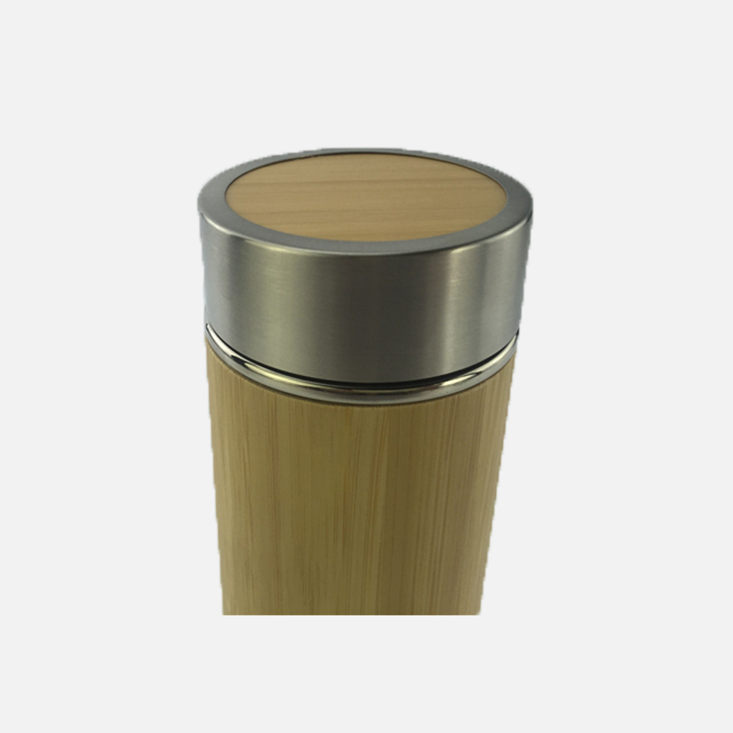 Bamboo Stainless Steel Bottle
