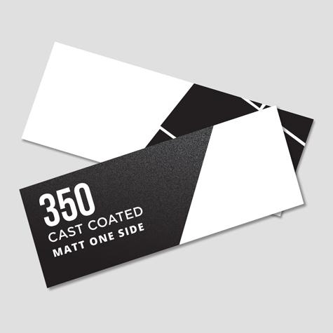 350 Artboard Cast Coated Matt 1 Side