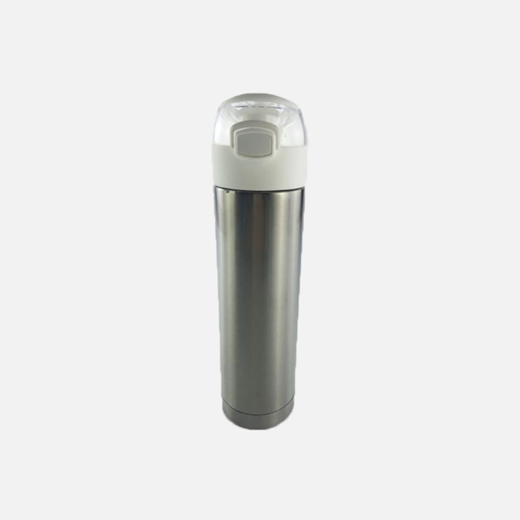 Stainless Steel Sport Bottle - Flip Lid
