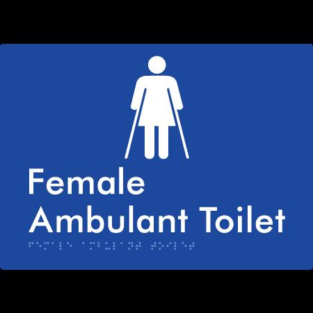 Female Ambulant Toilet