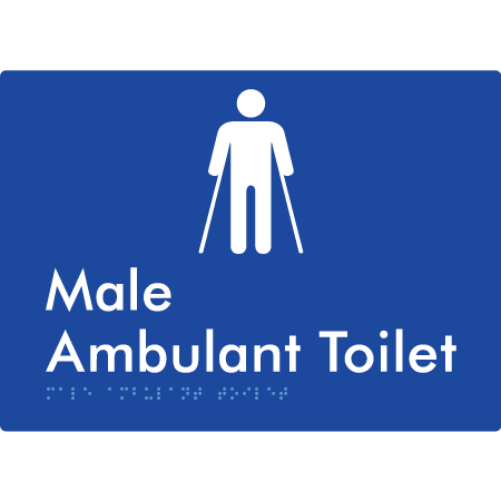 Male Ambulant Toilet