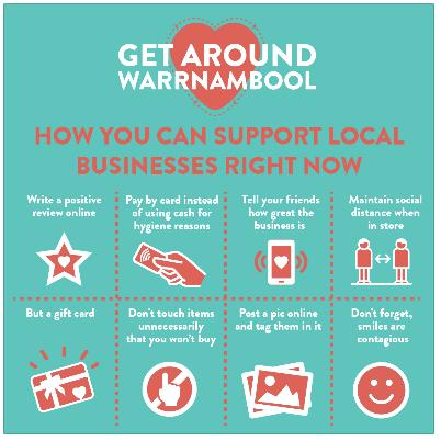 Get Around Warrnambool Stickers