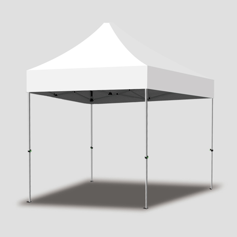 Marquee Frame with Standard Unprinted Canopy