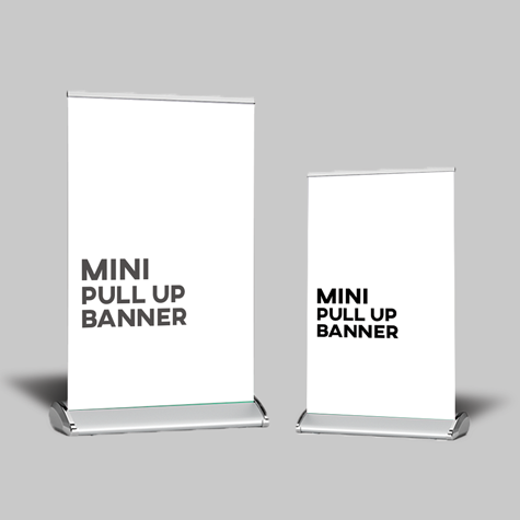 Mini - Pull Up Banner Sets