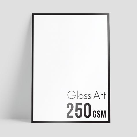 250gsm Gloss Art