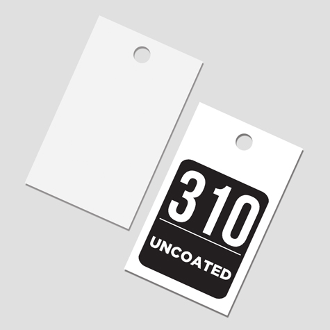 Swing Tags 310gsm Uncoated