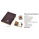 CEO Loose-leaf Notebook 5