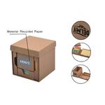 Folding Cube Desk Holder 4